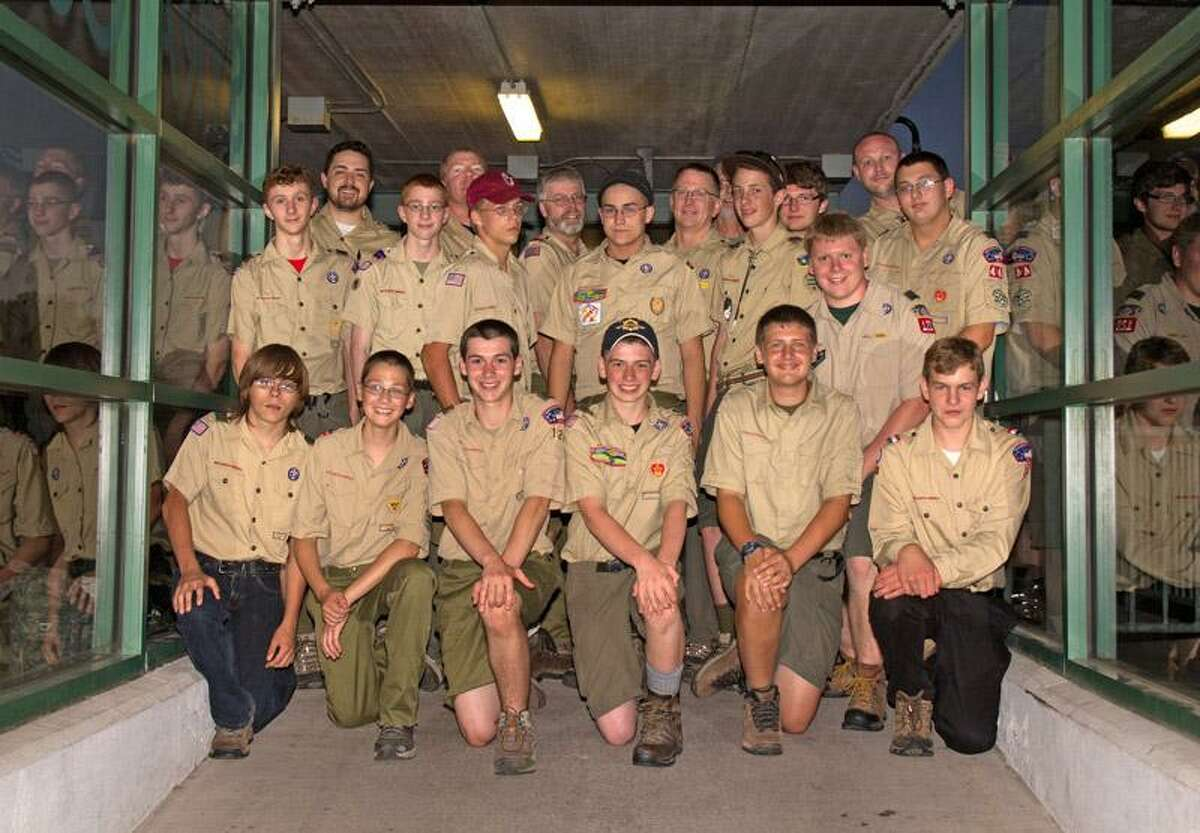 Photo Courtesy Boy Scouts Boy Scouts from Troop 2 in Oneida, Troop 120 in Hamilton and Troop 44 in Lee Center are hiking 70 miles over 12 days through the Sangre de Cristo Mountains in New Mexico.