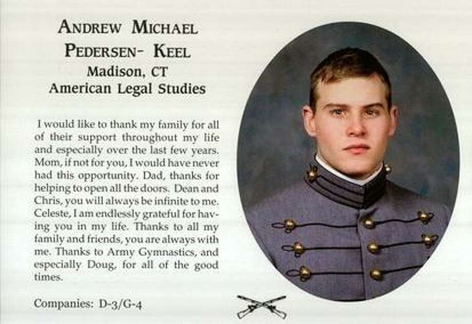 Andrew Pederson-Keel's photo from his yearbook at West Point. (E-yearbook.com)
