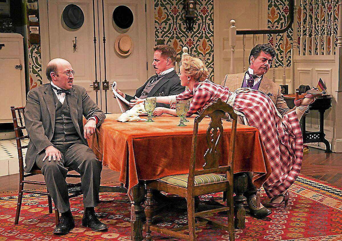 """Steve Martin's script for """"The Underpants"""" gives its stellar ensemble cast a lot to work with."""