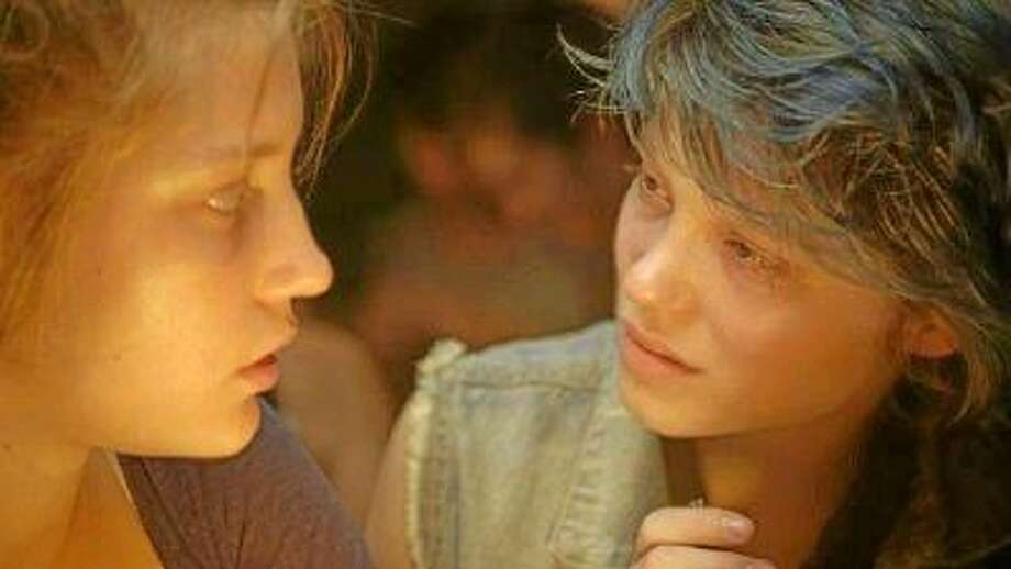 "Adele Exarchopoulos stars as Adele and Lea Seydoux stars as Emma in ""Blue Is the Warmest Color."""