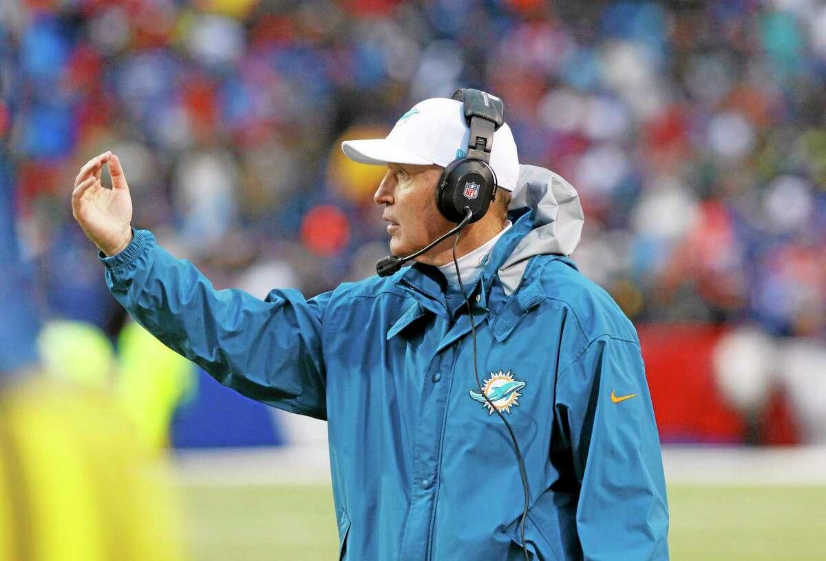 Miami Dolphins coach Joe Philbin.