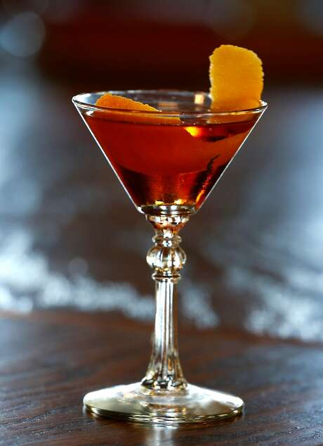 The Red O'Hanlon cocktail at Sláinte in Oakland. Photo: Paul Chinn, The Chronicle