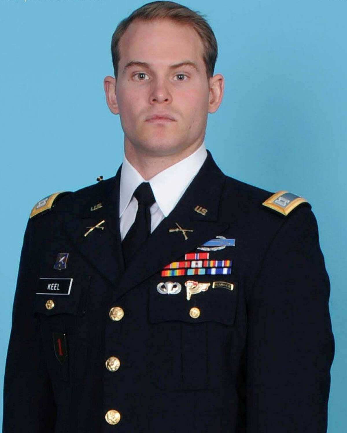 Capt. Andrew Pedersen-Keel. U.S. Army photo.