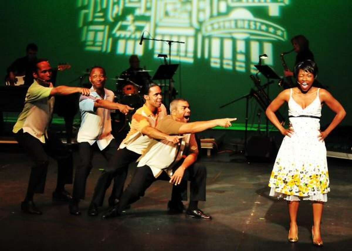 """Contributed photo: """"Smokey Joe's Cafe: The Songs of Leiber and Stoller"""" will have audience members singing at Long Wharf Theatre."""