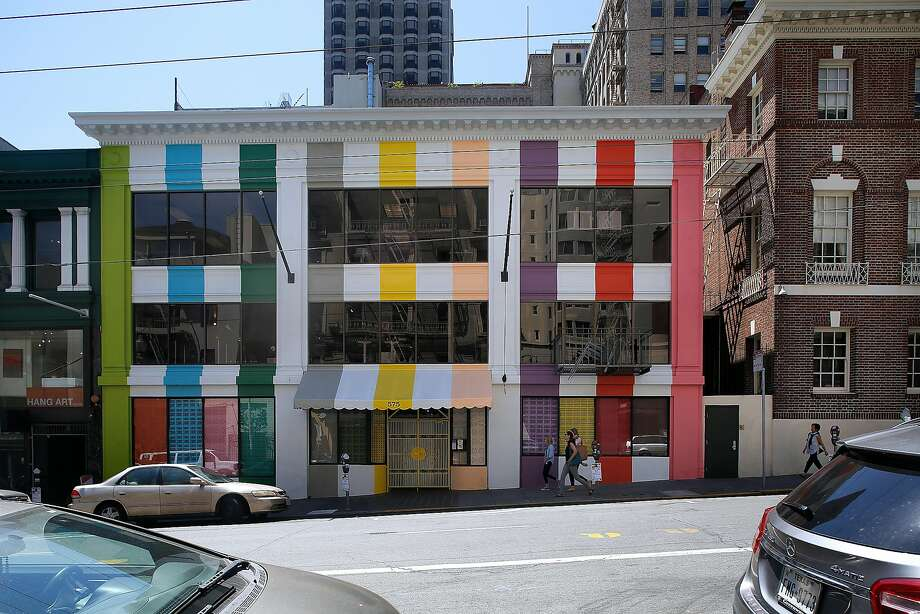 Outside view of the Color Factory in San Francisco. Photo: Liz Hafalia, The Chronicle
