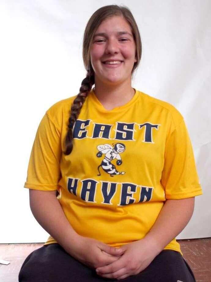 Female Athlete of the Week: East Haven softball player Amanda Baldassare.