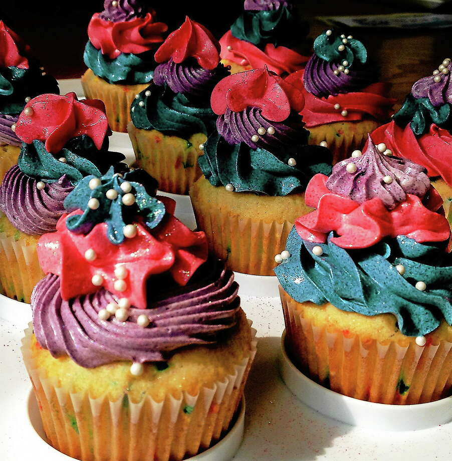 Cupcakes Photo by Rachel Chinapen Photo: Journal Register Co.