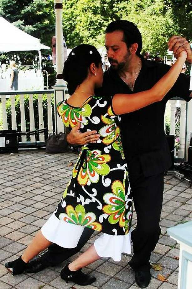 Contributed photo: Argentine tango instructor Gem Duras, right, will perform.