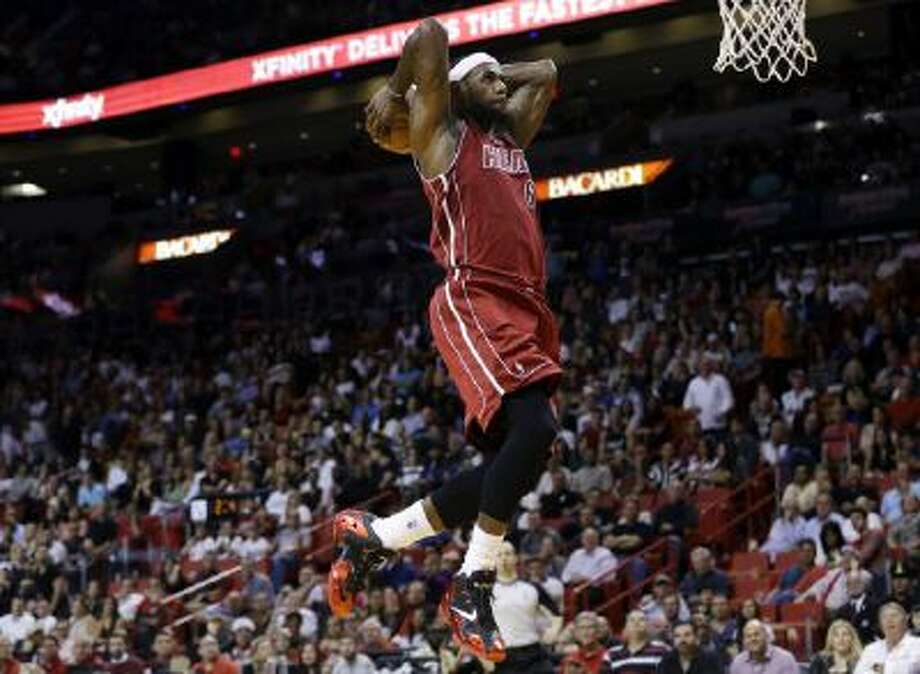 LeBron James becomes just the third NBA player to be named the AP's Athlete of the Year.