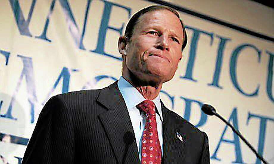 U.S. Seantor Richard Blumenthal (Jessica Hill/AP) Photo: Journal Register Co. / AP2010