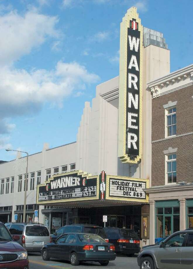 The Warner Theatre in downtown Torrington, CT.
