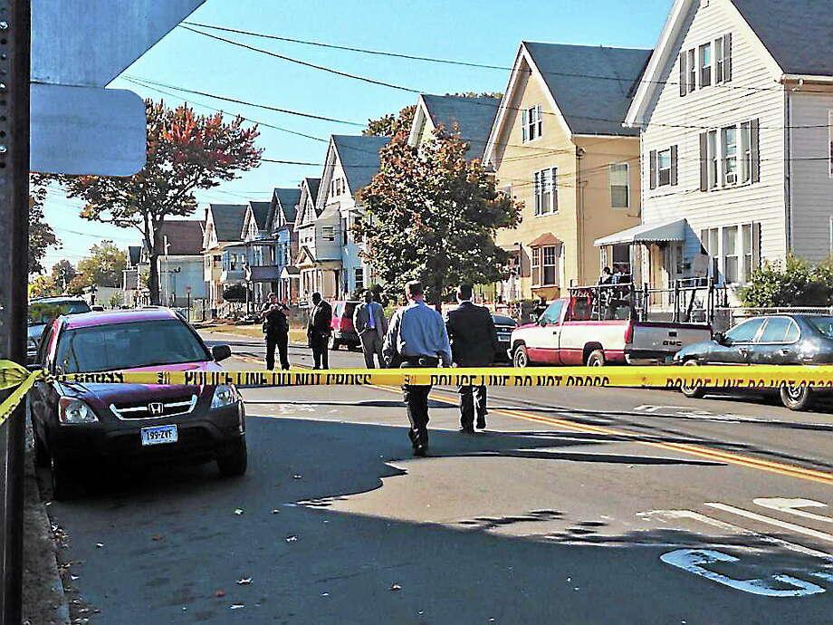 New Haven shooting scene Photo: Journal Register Co.
