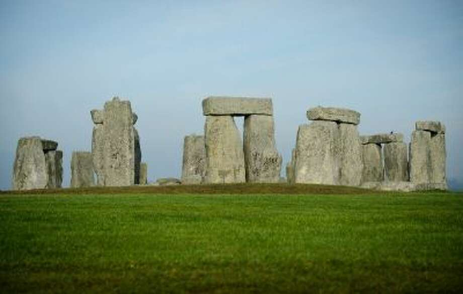 A general view shows the prehistoric monument of Stonehenge, a world heritage site, near Amesbury in south west England on December 11, 2013. Photo: AFP/Getty Images / 2013 AFP