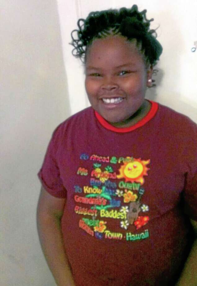 This undated file photo shows Jahi McMath, who remains on life support at Children's Hospital Oakland nearly a week after doctors declared her brain dead. AP Photo/Courtesy of McMath Family and Omari Sealey Photo: AP / McMath Family and Omari Sealey