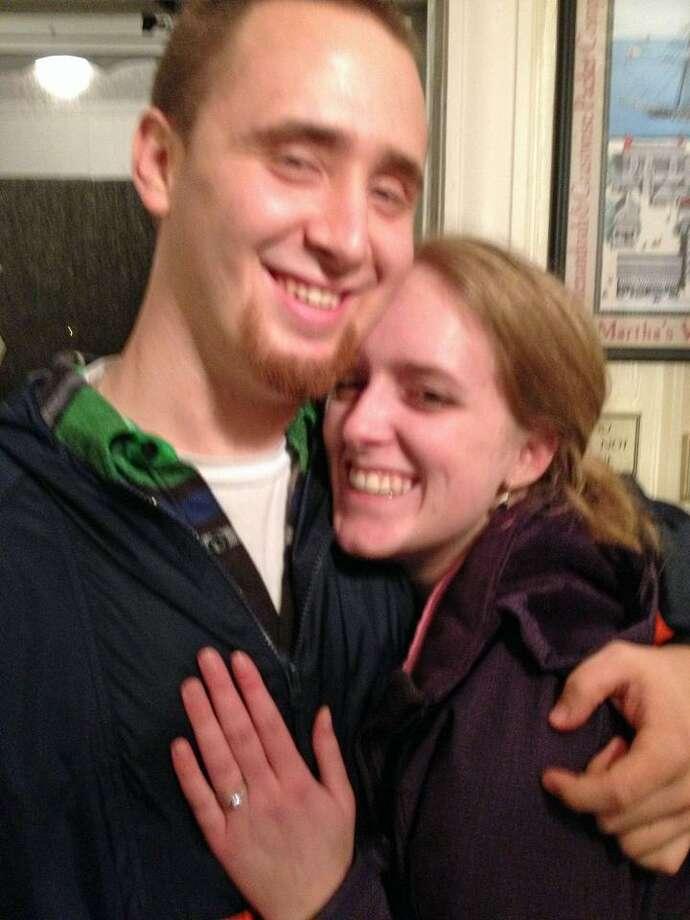 Elizabeth Mathews and Ryan Michael Shene