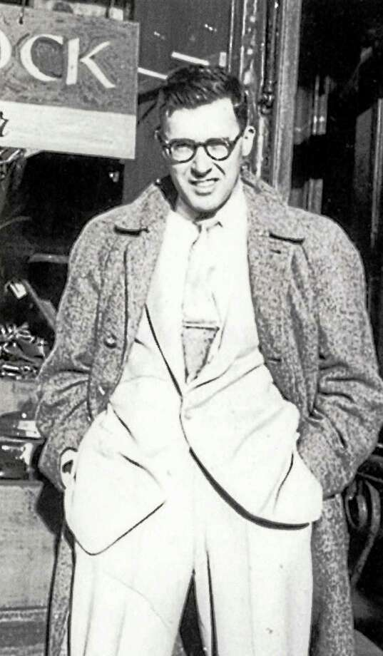 Walter Kaylin was a dapper fellow in the era when he wrote for men's adult magazine. Photo: Journal Register Co.
