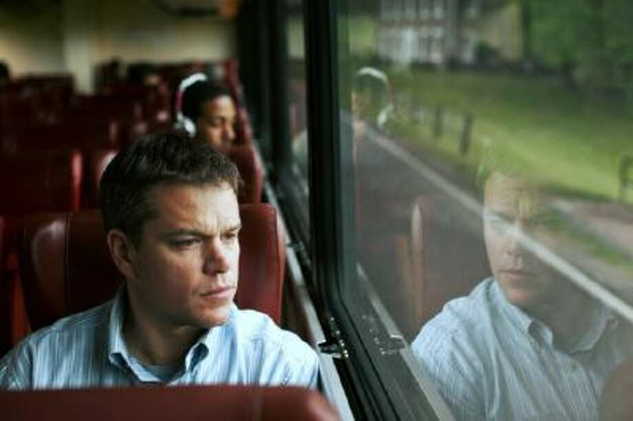 "This undated publicity film image provided by Focus Features shows Matt Damon starring as Steve Butler in Gus Van Sant's contemporary drama, ""Promised Land,"" a Focus Features release."
