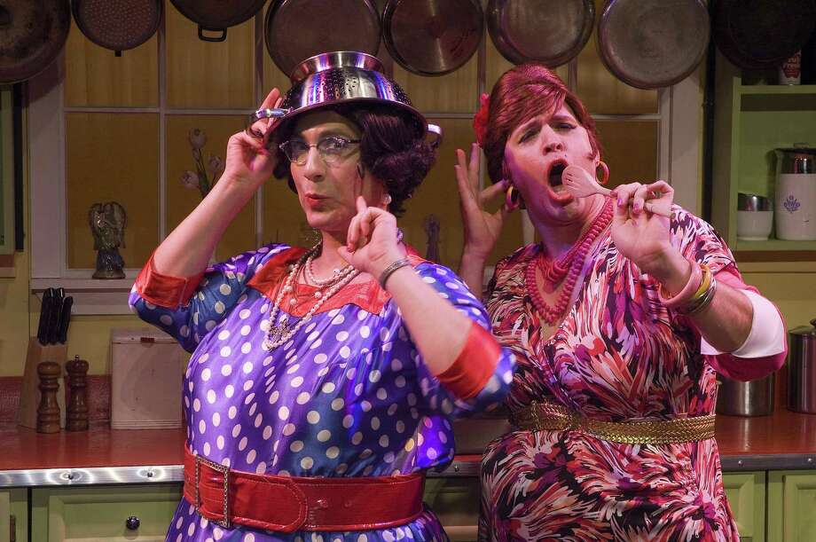 """Photo Courtesy Syracuse Talent Company The Syracuse Talent Company will present """"Cooking with the Calamari Sisters"""" July 11 through Aug. 11 at the New York State Fairgrounds in Geddes."""