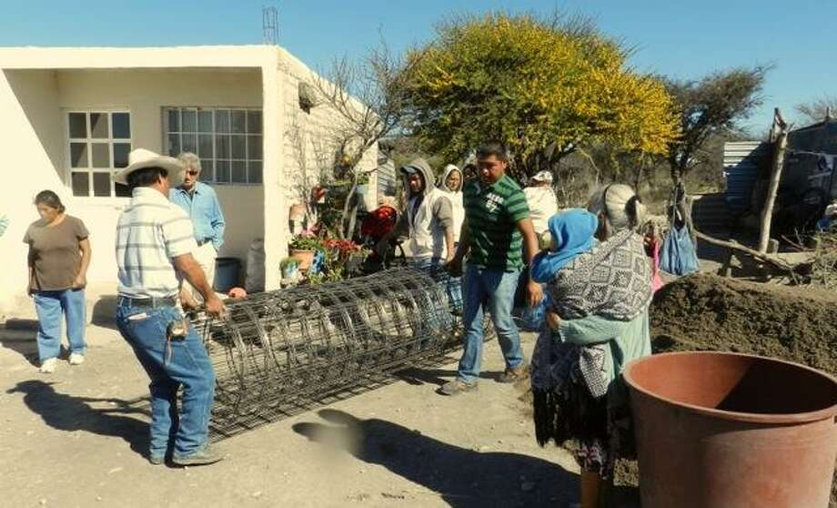 Submitted photo Cisterns and equipment are helping Mexican citizens provide themselves with clean water, thanks to funding from the Rotary Club of Middletown.