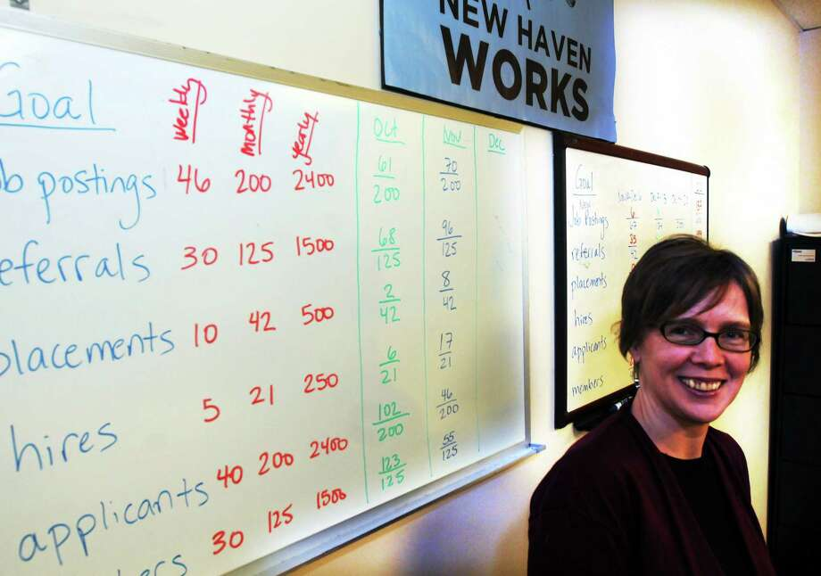 New Haven Works executive director Mary Reynolds. December 16, 2013 New Haven Photo: (Mara Lavitt - New Haven Register)    / Mara Lavitt