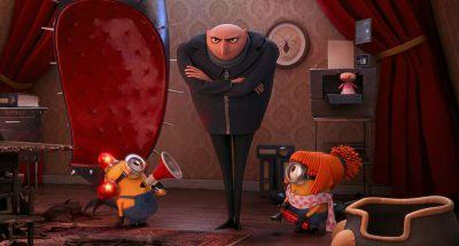 Gru (Steve Carell) has about had enough mischief in 'Despicable Me 2.' (Universal) / Copyright: © 2013 Universal Studios. ALL RIGHTS RESERVED.