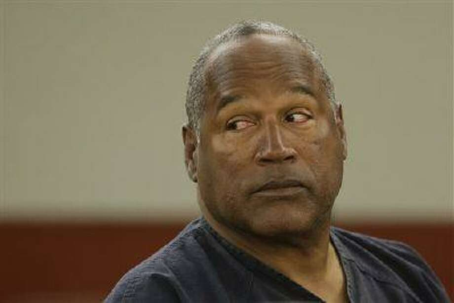 O.J. Simpson listens to testimony at an evidentiary hearing in Clark County District Court, May 13, 2013 in Las Vegas. Photo: AP / Pool AP