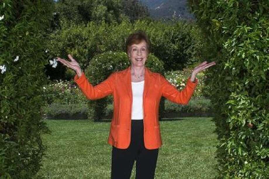 Carol Burnett, who is to receive the Mark Twain award later this year, at San Ysidro ranch near her home on July, 29, 2013 in Santa Barbara, CA.