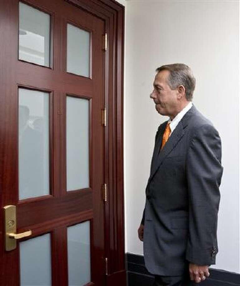 Speaker of the House John Boehner, R-Ohio. Photo: AP / AP