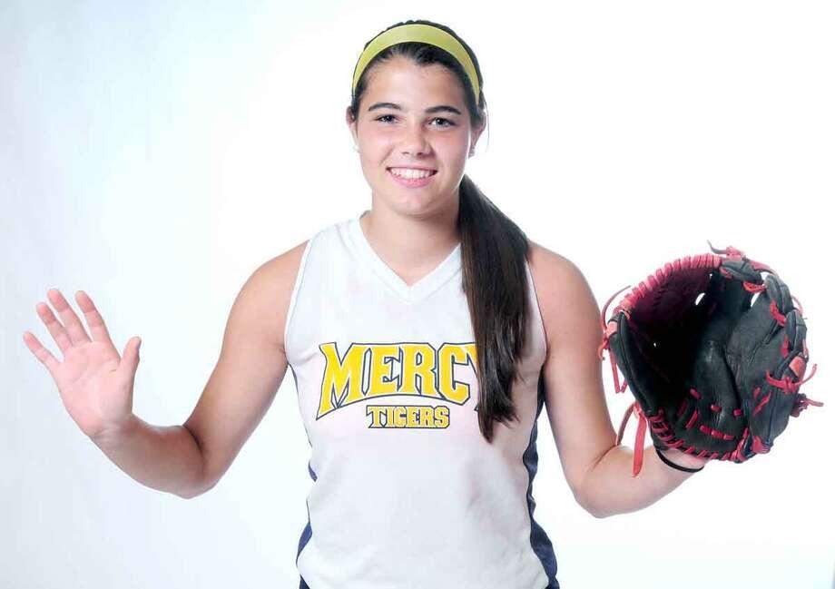 All-Area Softball MVP: Astin Donovan, Mercy. Arnold Gold/Register