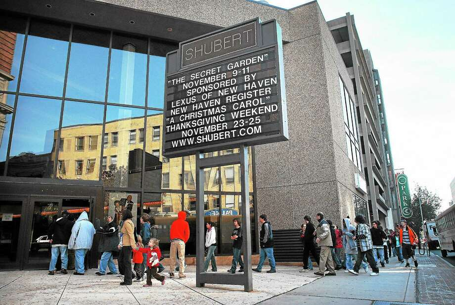 (Peter Casolino -- New Haven Register) The city of New Haven is planning to sell the Shubert Theater, which has been a New Haven landmark since 1914. Photo: Journal Register Co.