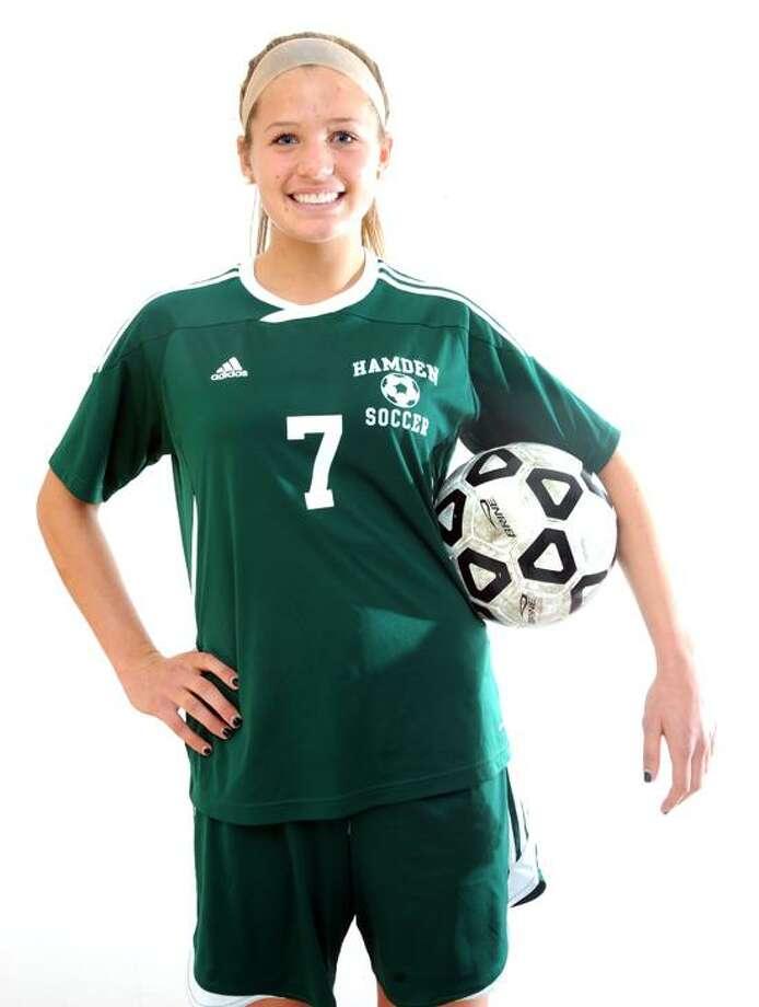 Rachel Ugolik of Hamden soccer, All-Area MVP. (Peter Hvizdak/Register) Photo: New Haven Register / ©Peter Hvizdak /  New Haven Register