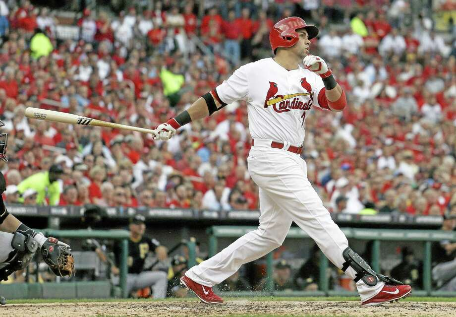 Former St. Louis Cardinals outfielder Carlos Beltran and the New York Yankees have finalized a $45 million, three-year contract. The agreement, reached Dec. 6, was announced by the team Thursday. Photo: Jeff Roberson — The Associated Press   / AP
