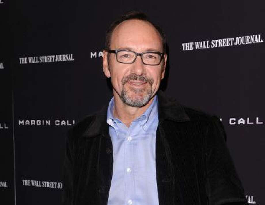"""This Oct. 17, 2011 photo shows actor Kevin Spacey attending the premiere of """"Margin Call"""" in New York. Netflix's highly anticipated original series """"House of Cards"""" will premiere Feb. 1."""
