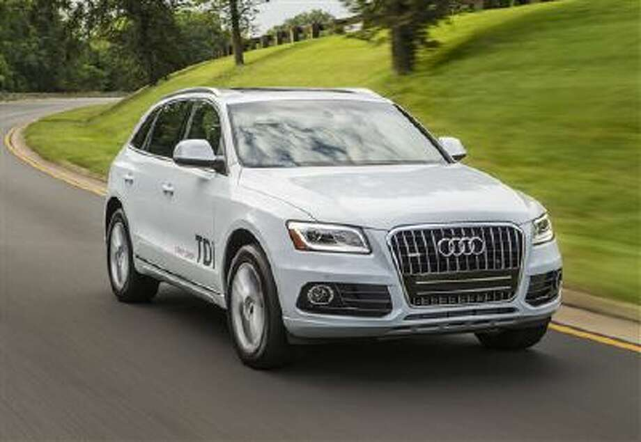 This undated image made available by Audi shows the 2014 Audi Q5 TDI. Photo: AP / Audi