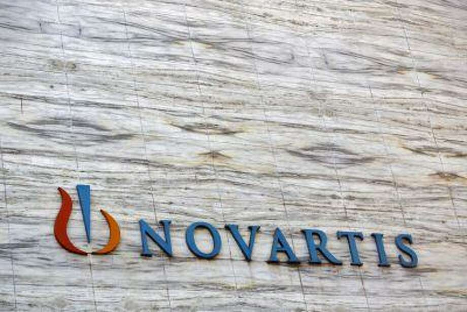 A Novartis logo is pictured on its headquarters building in Mumbai April 1, 2013. Photo: REUTERS / X90042