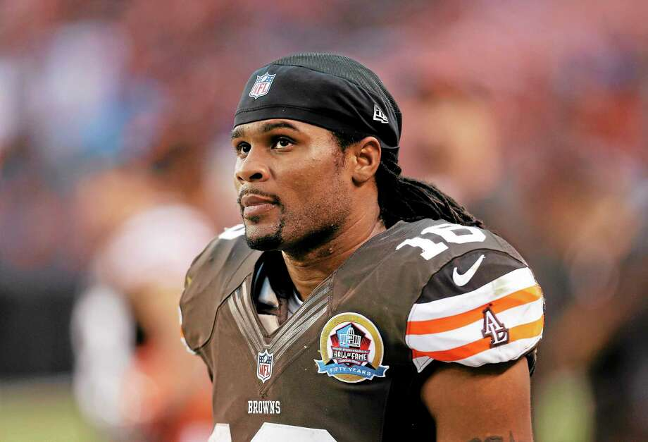 The New York Jets have signed free agent kick returner/wide receiver Josh Cribbs. Photo: Tony Dejak — The Associated Press   / AP2012