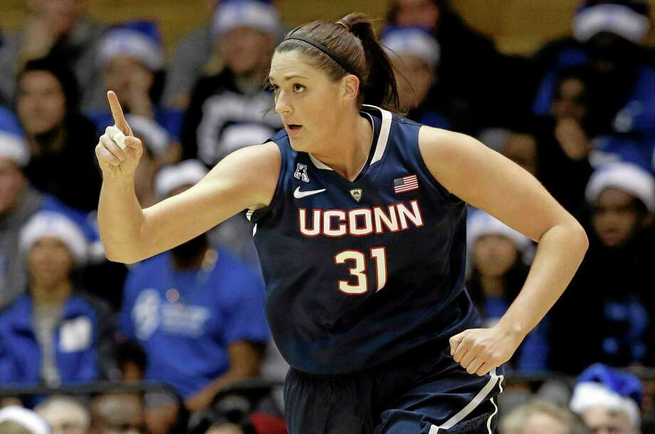 Stefanie Dolson knows UConn is the No. 1 team in the country, especially after a convincing 83-61 victory at No. 2 Duke on Tuesday night. Photo: Gerry Broome — The Associated Press   / AP