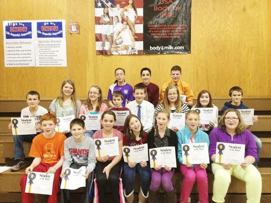 Photo Courtesy OTTO SHORTELL MIDDLE SCHOOL November 2012 Students of the Month at Otto Shortell Middle School. Top row, from left, Rachael Kohler, Jordan O'Connell, Jeffrey Coulter. Middle row, from left, Isaac Colvin, Caitlin Petrie, Amber Jenkins, Devin Coleman, Alex Vaccaro, Robyn Kilts, Madelyn Webb, Zachary Kristan. Bottom row, from left, Bryce Sgarlata, Jack Kallet, Cassandra Yazell, Kara Thurston, Sophia Skinner, Sarah Paul, Britney Learned.