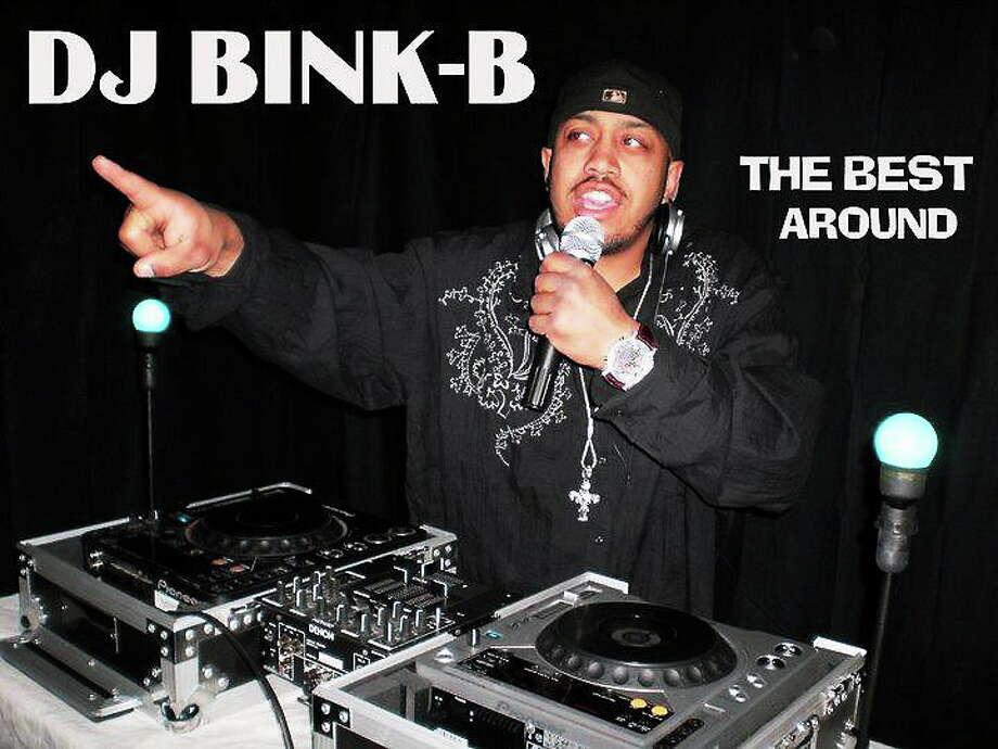 DJ Bink-B Photo: Journal Register Co.