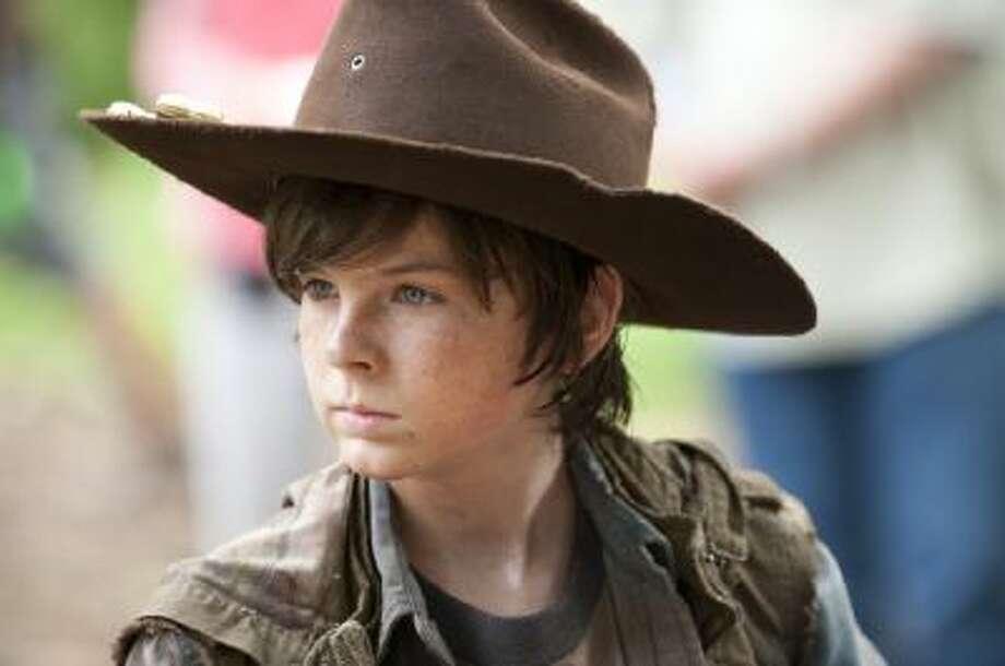 Carl Grimes (Chandler Riggs) - The Walking Dead - Season 3, Episode 1