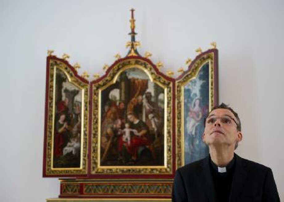 Bishop of Limburg Franz-Peter Tebartz-van Elst is shown in the chapel of his German residence, valued at $42 million, on Dec. 3, 2012.