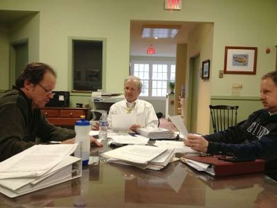 The Barkhamsted Board of Selectmen trimmed down its requested budget, heeding the advice of the Board of Finance. JASON SIEDZIK/ Register Citizen