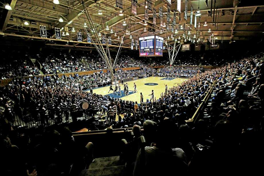 Duke's Cameron Indoor Stadium is shown during the first half of a game against Colorado State in Durham, N.C., on Dec. 7, 2011. Photo: Gerry Broome — The Associated Press   / AP2011