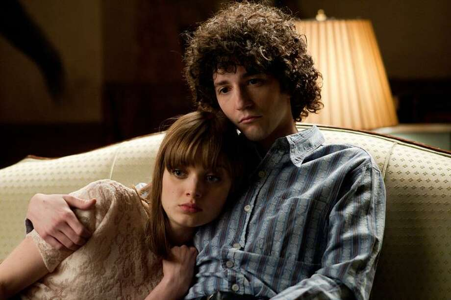 """Paramount Vintage photo: Bella Heathcote plays love interest Grace to John Magaro's Doug in the coming-of-age movie """"Not Fade Away."""" Photo: Barry Wetcher / © MMXII Paramount Vantage, A Division of Paramount Pictures and Indian Paintbrush Productions LLC.  All Rights Reserved."""