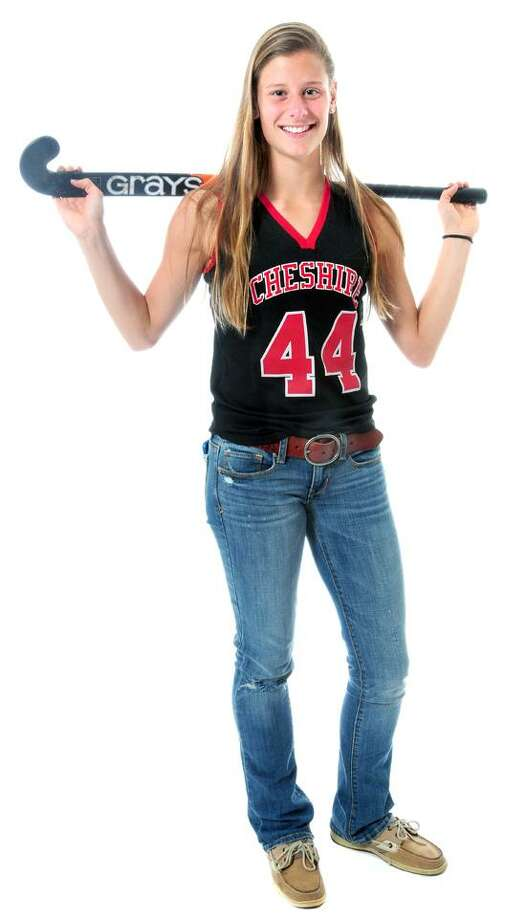 Michelle Federico of Cheshire High. (Photo by Arnold Gold/New Haven Register)