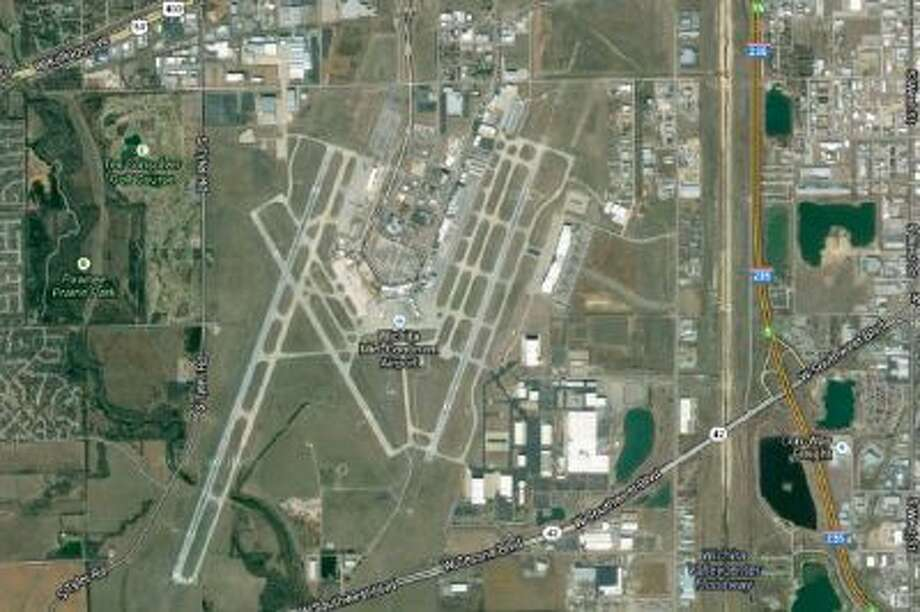 A map of the Wichita Mid-Continent Airport