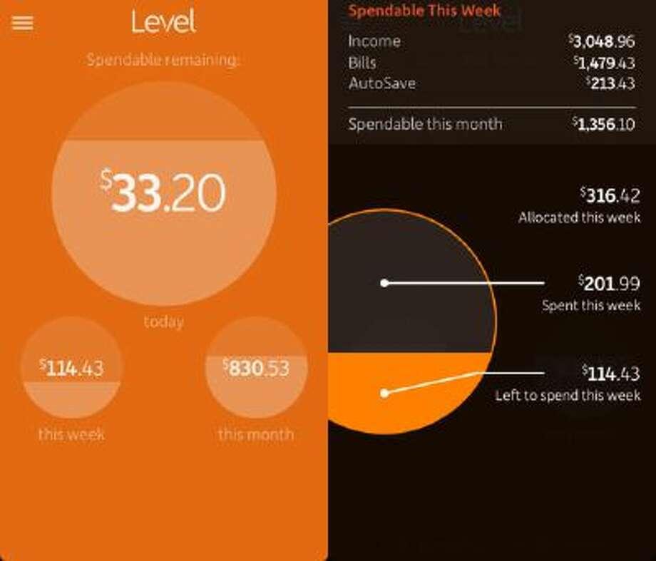 Level Money iPhone App.