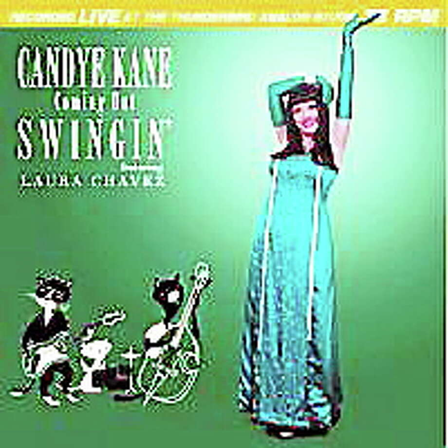 """Candye Kane says the band's been working hard, and right now """"we're like a well-oiled machine."""" Photo: Journal Register Co."""