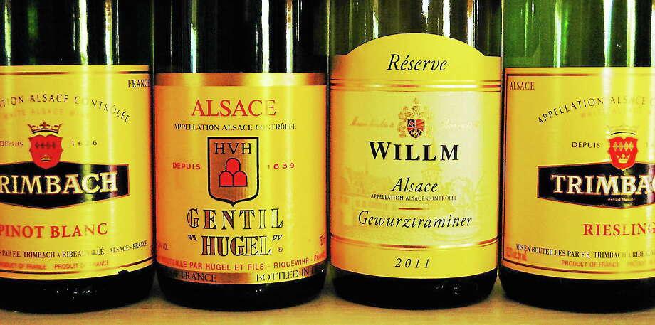Robert Rabine wines of Alsace Photo: Journal Register Co.