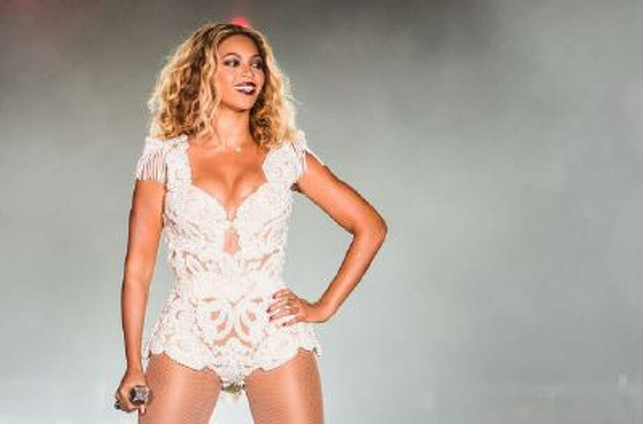 Singer Beyonce performs on stage during a concert in the Rock in Rio Festival on Sept. 13.